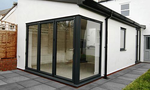 bi-fold doors in Oxford installed by Paradise Windows
