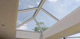 Lantern Roof installed in Oxford by Paradise Windows