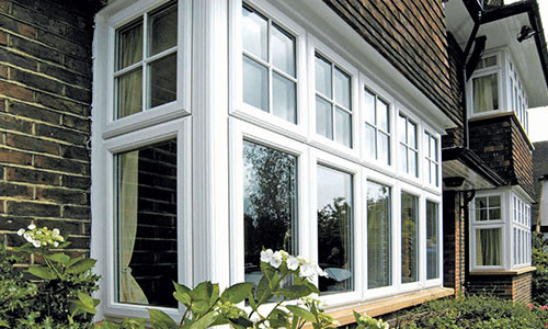 uPVC Casement windows with georgian bars installed by Paradise Windows in Oxford