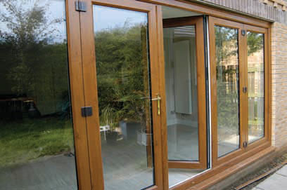 uPVC Double Doors to back garden installed by Paradise Windows in Oxford