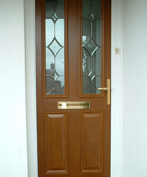 Timber Effect Composite Door in Oxfordshire installed by Paradise Windows