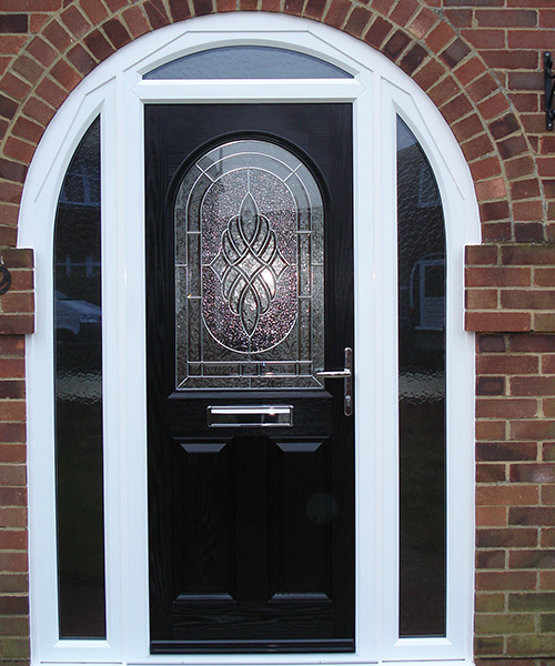 Replacement Composite Door in Black fitted in Oxford by Paradise Windows