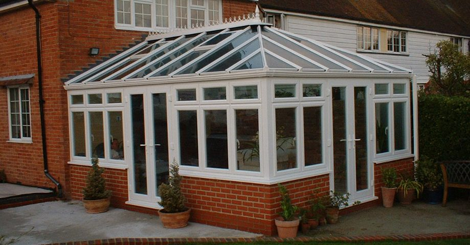 Large Edwardian uPVC Conservatory installed in Oxford by Paradise Windows