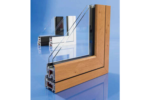 Profile of Timber Style uPVC Paradise Windows