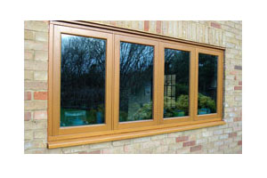 Light Hardwood Timber Window Frames Installed by Paradise Windows in Oxford