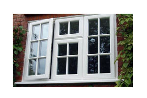 White Timber Windows on Grade listed property in Oxfordshire installed by Paradise Windows