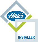 Halo Approved Installed Logo