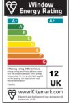 Our Double Glazing Energy Efficiency Rating - A+