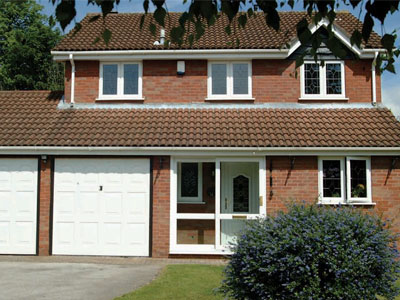 Detached house with uPVC windows in Oxford