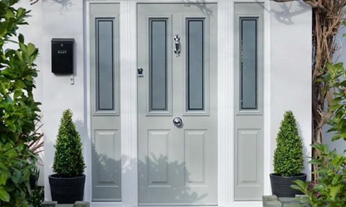 Composite doors in Oxford with side panels