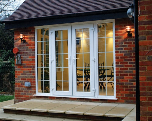French Doors with Side Panels in Oxford, Oxfordshire