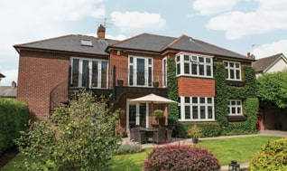 Casement Windows with Leaded Bars in Oxfordshire