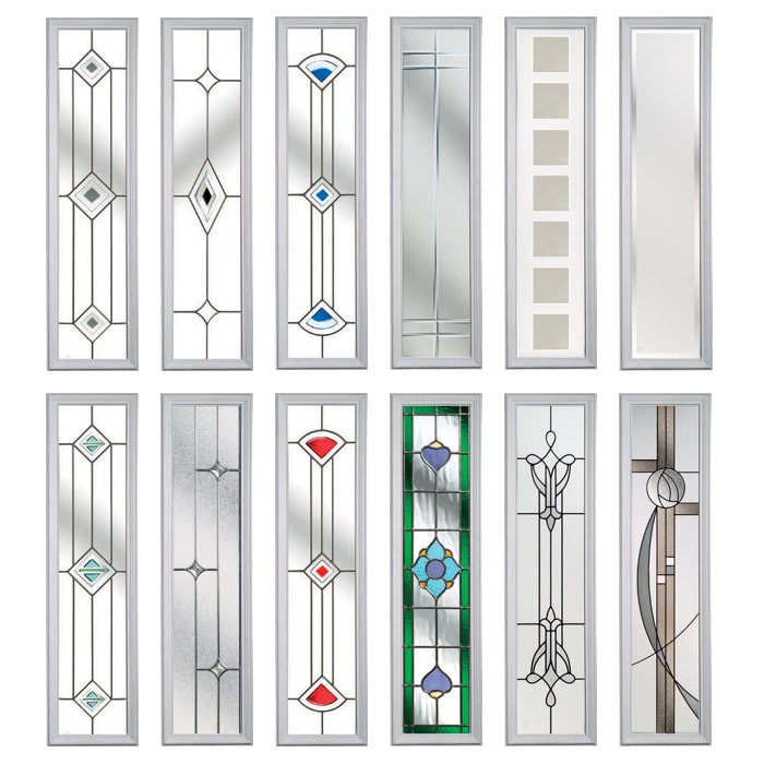 Glass Options for Composite Doors in Oxford by Solidor