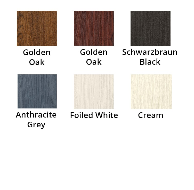 Composite Door Colour Selection from Solidor - Paradise Windows Oxford